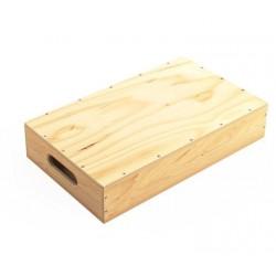Holzkisten Die Hälfte - Apple Box Half