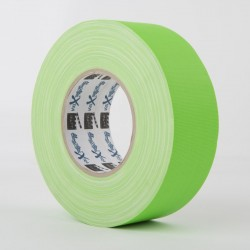 Taśma Magtape Xtra ™ Matt Gaffer - 25mm x 50m Fluorescencyjna Zielona