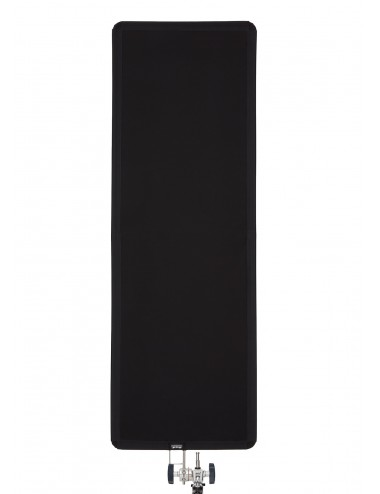 "Floppy Cutter 60cm x 180cm (24"" x 70"") - Black Solid Flag"