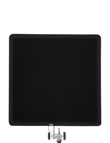 """Floppy Cutter 100cm x 100cm (40"""" x 40"""") - Black Solid Flag"""