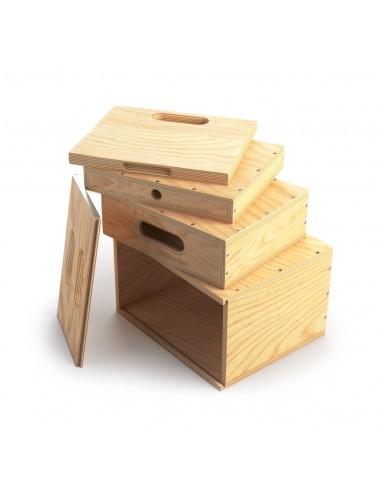Mini-Apple-Box Geschachtelten Satz