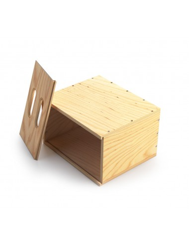 Mini Holzkisten Voll Verschachtelter - Mini Apple Box Full Nested