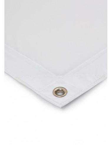 Weiße Kunstseide (Full-Seide)