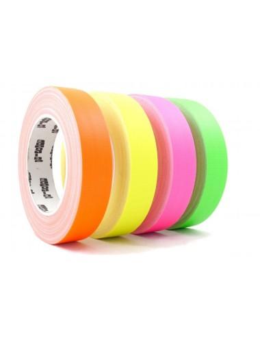 Taśma Fluorescencyjna Tkanina Gaffer 19mm x 25m
