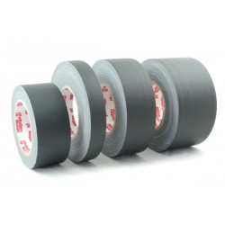 Schwarz Matt Gaffer Tape Gewebe