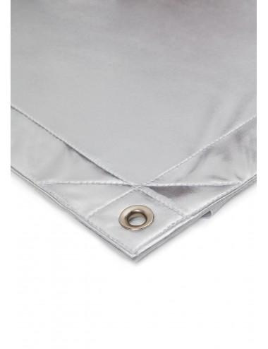 Tkanina Refleksyjna - Silver Matt