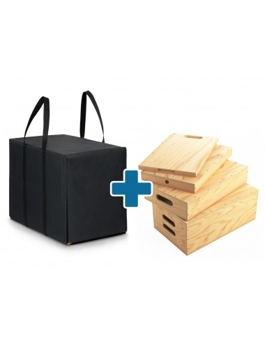 Apple Box Set + Carrying Bag