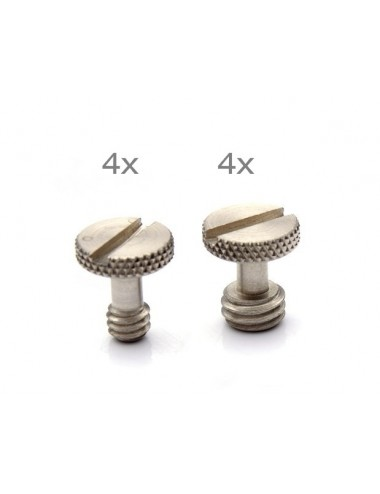 "1/4"" and 3/8"" Camera Screw Set ( 8pcs. )"