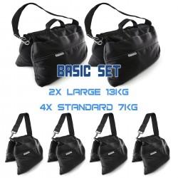 Sandsack Basic Set (2x 13kg + 3x 7kg)