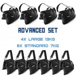 Sandsack Advanced Set (4x 13kg + 6x 7kg)