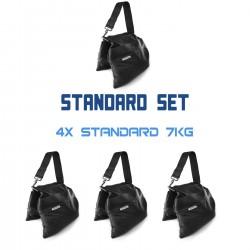 Sandbag - Zestaw Standard 4 x 7 kg