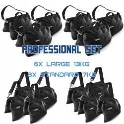 Sandsack Profi Set (6x 13kg + 8x 7kg)