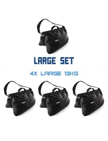 Sandsack Groß Set 4 x 13 kg